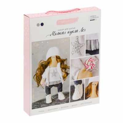 Купить со скидкой 3299326 Интерьерная кукла «Лея», набор для шитья