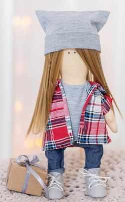 Набор для изготовления игрушки Арт Узор 3299331 Интерьерная кукла «Зои», набор для шитья