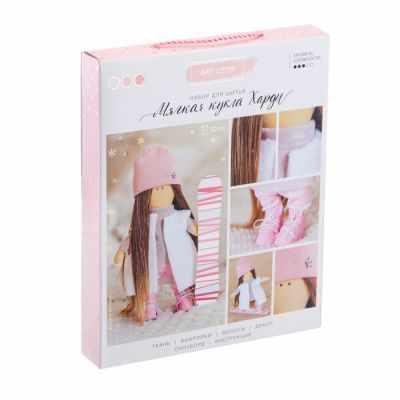 Набор для изготовления игрушки Арт Узор 3299333 Интерьерная кукла «Харди», набор для шитья
