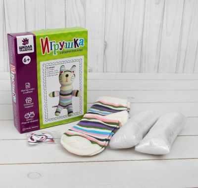 Набор для изготовления игрушки Школа талантов 3522331 Набор для создания игрушки из носков