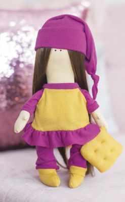 Набор для изготовления игрушки Арт Узор 3548659 Интерьерная кукла «Сьюзен», набор для шитья