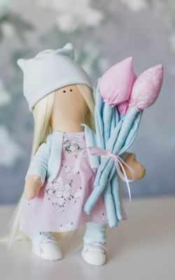Набор для изготовления игрушки Арт Узор 3548661 Интерьерная кукла «Марта», набор для шитья