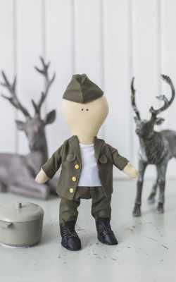 Набор для изготовления игрушки Арт Узор 3548662 Интерьерная кукла «Питер», набор для шитья