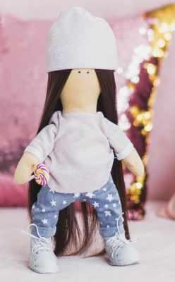 Набор для изготовления игрушки Арт Узор 3548665 Интерьерная кукла «Дафни», набор для шитья