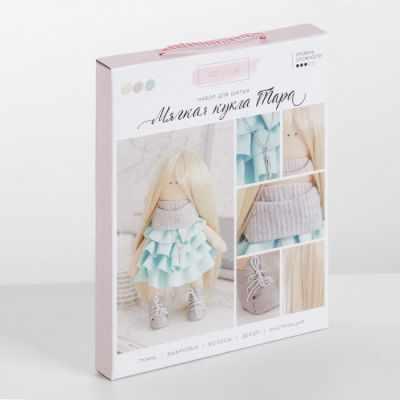 Набор для изготовления игрушки Арт Узор 3548666 Интерьерная кукла «Тара», набор для шитья