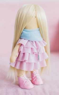 Набор для изготовления игрушки Арт Узор 3548667 Интерьерная кукла «Тэсса», набор для шитья