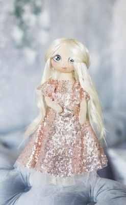 Набор для изготовления игрушки Арт Узор 3548679 Интерьерная кукла «Николь», набор для шитья