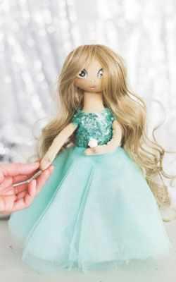 Набор для изготовления игрушки Арт Узор 3548681 Интерьерная кукла «Флер», набор для шитья
