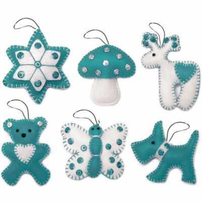 Набор для изготовления изделий из фетра ВДВ ФН-61 Набор для изготовления декоративных игрушек