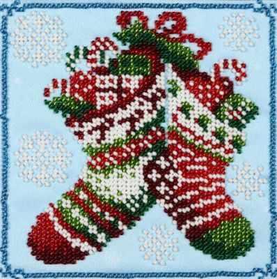 Набор для вышивания ВДВ ТН-0448 Новогодние сапожки сапожки marko сапожки