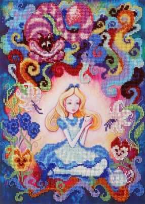 Набор для вышивания ВДВ ТН-0583 Алиса в стране чудес