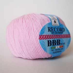 Пряжа BBB Filati Пряжа BBB Filati Record Цвет.86276 Розовый