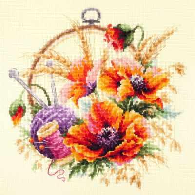 Фото - Набор для вышивания Чудесная игла 100-123 Маки для искусницы чудесная планета земля