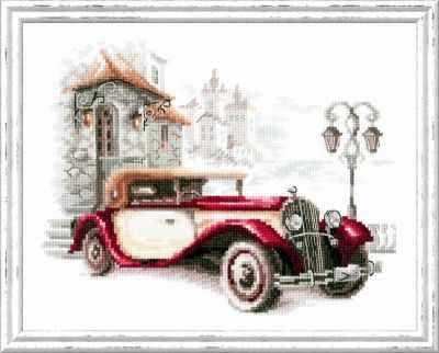 Фото - Набор для вышивания Чудесная игла 110-022 Ретро-автомобиль. Кадиллак чудесная планета земля