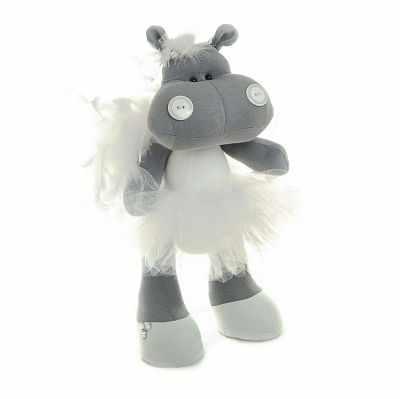 Набор для изготовления игрушки Кукольная Фея Б-2 «Бегемот Ева»