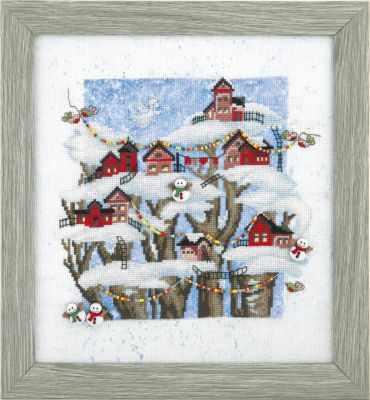 Набор для вышивания Чарiвна Мить РК-132 Рождественская сказка набор для вышивания чарiвна мить рк 102 пепел