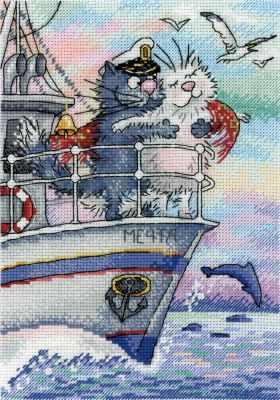 Набор для вышивания МП Студия НВ-686 Море любви