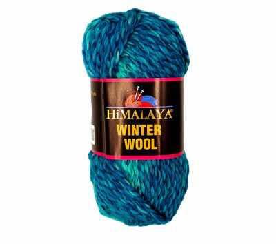 Пряжа Himalaya Winter wool Цвет.17 Бир. меланж