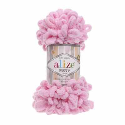 Пряжа Alize Пряжа Alize PUFFY Цвет.185 Ярко-розовый