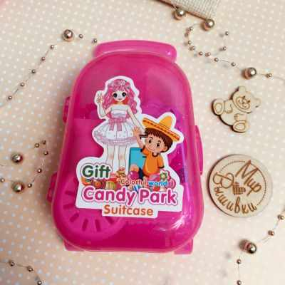 Заготовки и материалы для изготовления игрушки - Чемодан, розовый