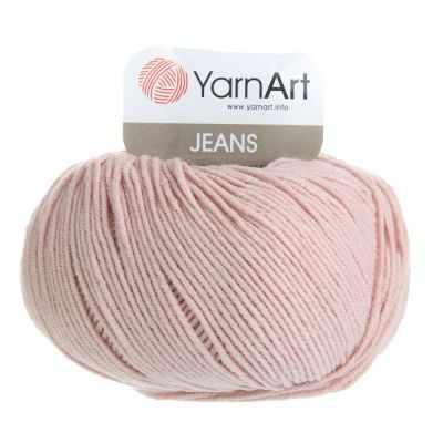Пряжа YarnArt Пряжа YarnArt Jeans Цвет.83 Светлая пыльная роза
