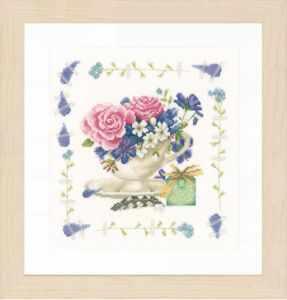 Набор для вышивания Lanarte PN-0170950 Bouquet of roses