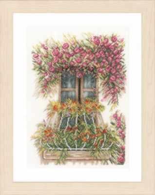 Набор для вышивания Lanarte PN-0171411 Flower Balcony