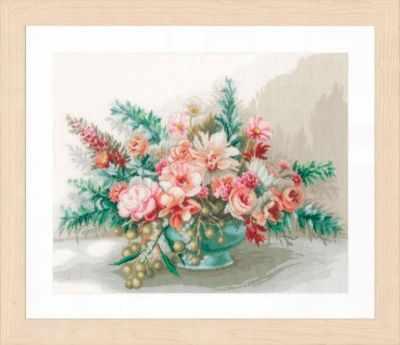Набор для вышивания Lanarte PN-0169794 Bouquet of flowers