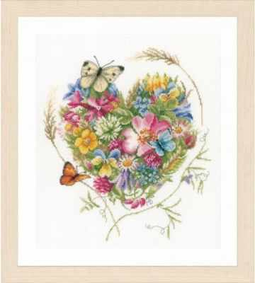 Купить со скидкой PN-0169960 A heart of flowers (Lanarte)