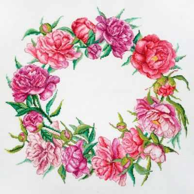 Набор для вышивания Марья искусница 06.002.69 Цветение пионов