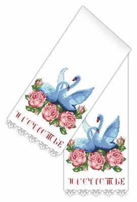 Основа для вышивания с нанесённым рисунком Каролинка КРК 1505 рушник - схема для вышивания (Каролинка)
