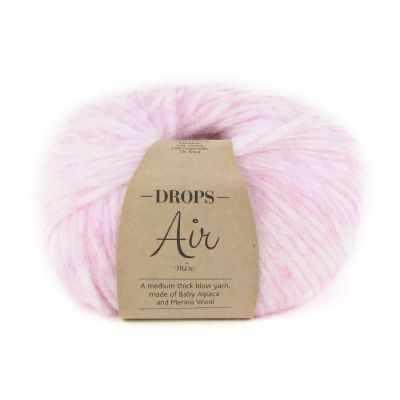 Пряжа DROPS Пряжа DROPS Air Цвет. 08 Светло - розовый