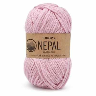 Пряжа DROPS Nepal Цвет. 3112 Светло - розовый