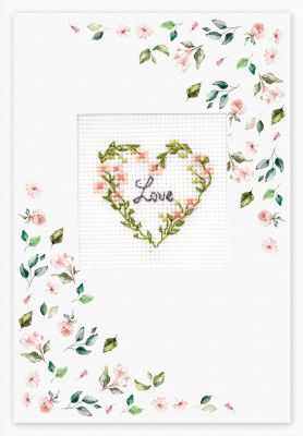 Набор для вышивания Luca-S (S)P-99 Набор для изготовления открытки