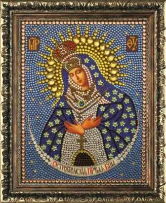 Мозаичная картина Преобрана Алмазная вышивка 0064/1 Остробрамская - картина стразами (Преобрана)