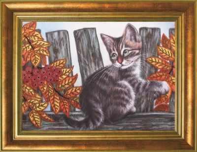 Мозаичная картина Преобрана Алмазная вышивка 0111/1 Осенние ягоды - картина стразами (Преобрана)