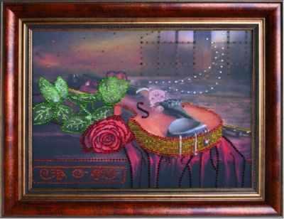 Мозаичная картина Преобрана Алмазная вышивка 0119/1 Вечерняя серенада - стразами (Преобрана)