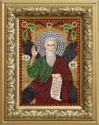 цена на Мозаичная картина Преобрана Алмазная вышивка 0305/1 Святой апостол Андрей Первозванный - картина стразами (Преобрана)