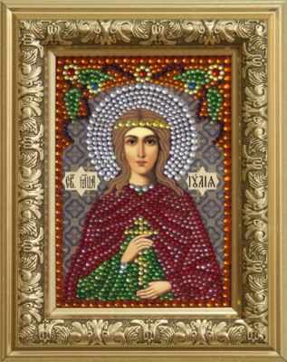 Мозаичная картина Преобрана Алмазная вышивка 0309/1 Святая мученица Иулия (Юлия) - картина стразами (Преобрана)
