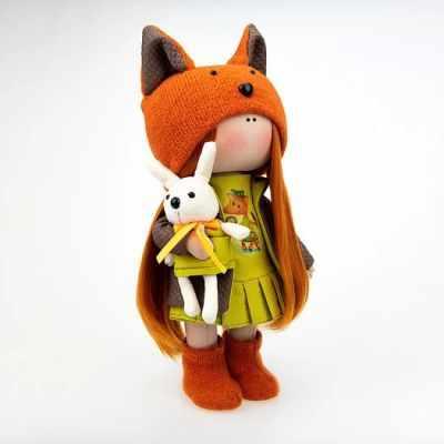 Набор для изготовления игрушки Pugovka Doll Набор Карина, 24 см