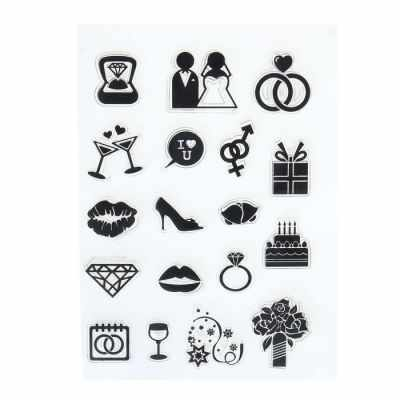 Материалы и инструменты для скрапбукинга Школа талантов 1660935 Набор печатей для эмбоссинга №20