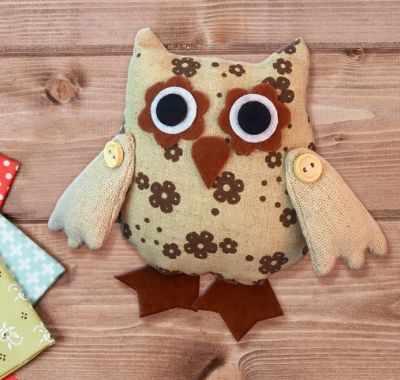 Набор для изготовления игрушки Школа талантов 3441961 Набор для создания подвесной игрушки из ткани