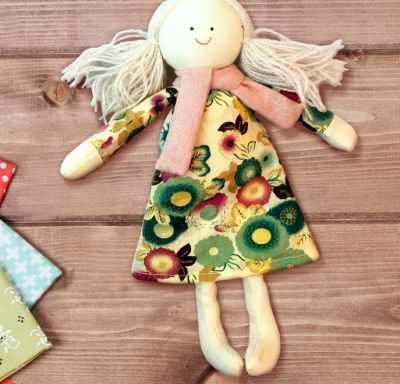 Набор для изготовления игрушки Школа талантов 3441971 Набор для создания подвесной игрушки из ткани