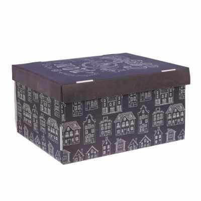 Подарочная коробка Арт Узор 2640220 Складная коробка «Дом там, где сердце»