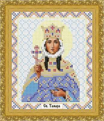 Основа для вышивания с нанесенным рисунком Матрёшкина КАЮ1275 Св. Тамара - схема для вышивания (Матрёшкина)