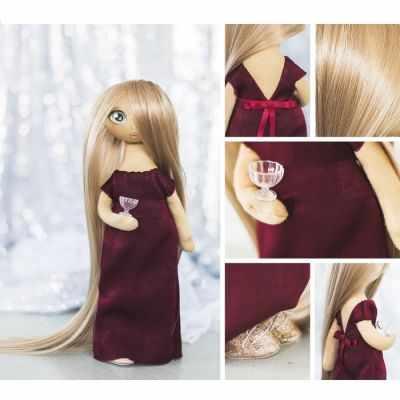 Набор для изготовления игрушки Арт Узор 3548682 Интерьерная кукла «Лорен», набор для шитья
