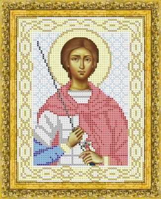 Основа для вышивания с нанесенным рисунком Матрёшкина КАЮ1072 Св. Дмиртий Солунский - схема для вышивания (Матрёшкина) основа для вышивания с нанесенным рисунком матрёшкина каю1285 св нина