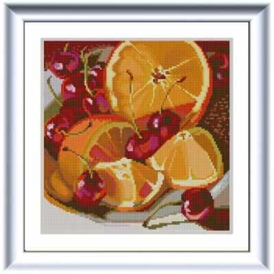 Основа для вышивания с нанесённым рисунком Конёк НИК 1255 Апельсин - схема для вышивания (Конёк) основа для вышивания с нанесённым рисунком конёк ник 1245 сладкие сны схема для вышивания конёк