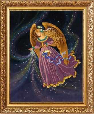 """НИК 8484 """"Звездный ангел""""- Рисунок на ткани"""