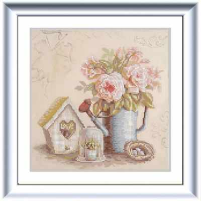 Основа для вышивания с нанесённым рисунком Конёк НИК 1259 Скворечник - схема для вышивания (Конёк) основа для вышивания с нанесённым рисунком конёк ник 1245 сладкие сны схема для вышивания конёк